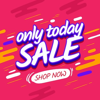Square banner sale design. pink vector discount poster. poster shopping promotional vector web banner template on pink background.season sale discount web banner.