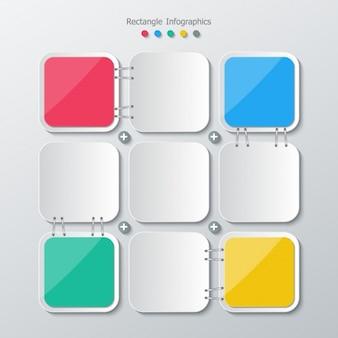 Colori square e grigio