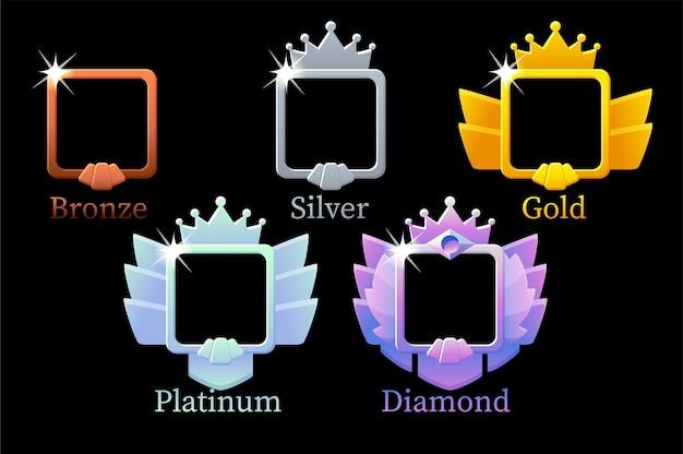 Квадратные рамки ранг игры для игры