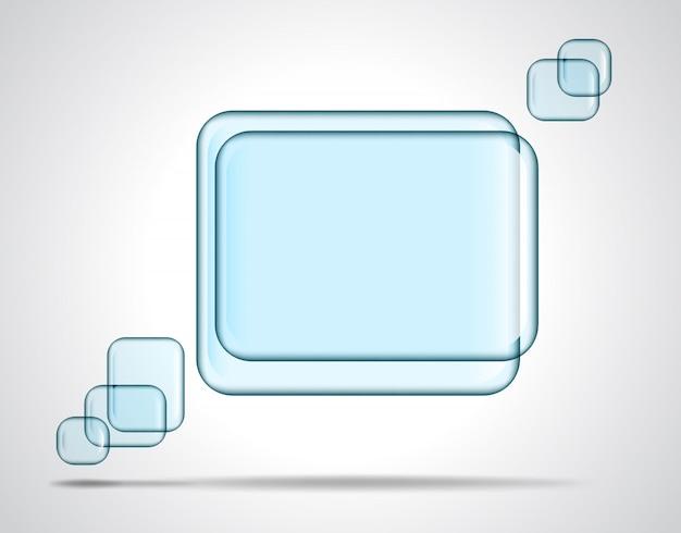 Квадратные стеклянные пластины