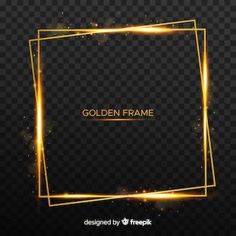 20f42def89a0 Square golden frame