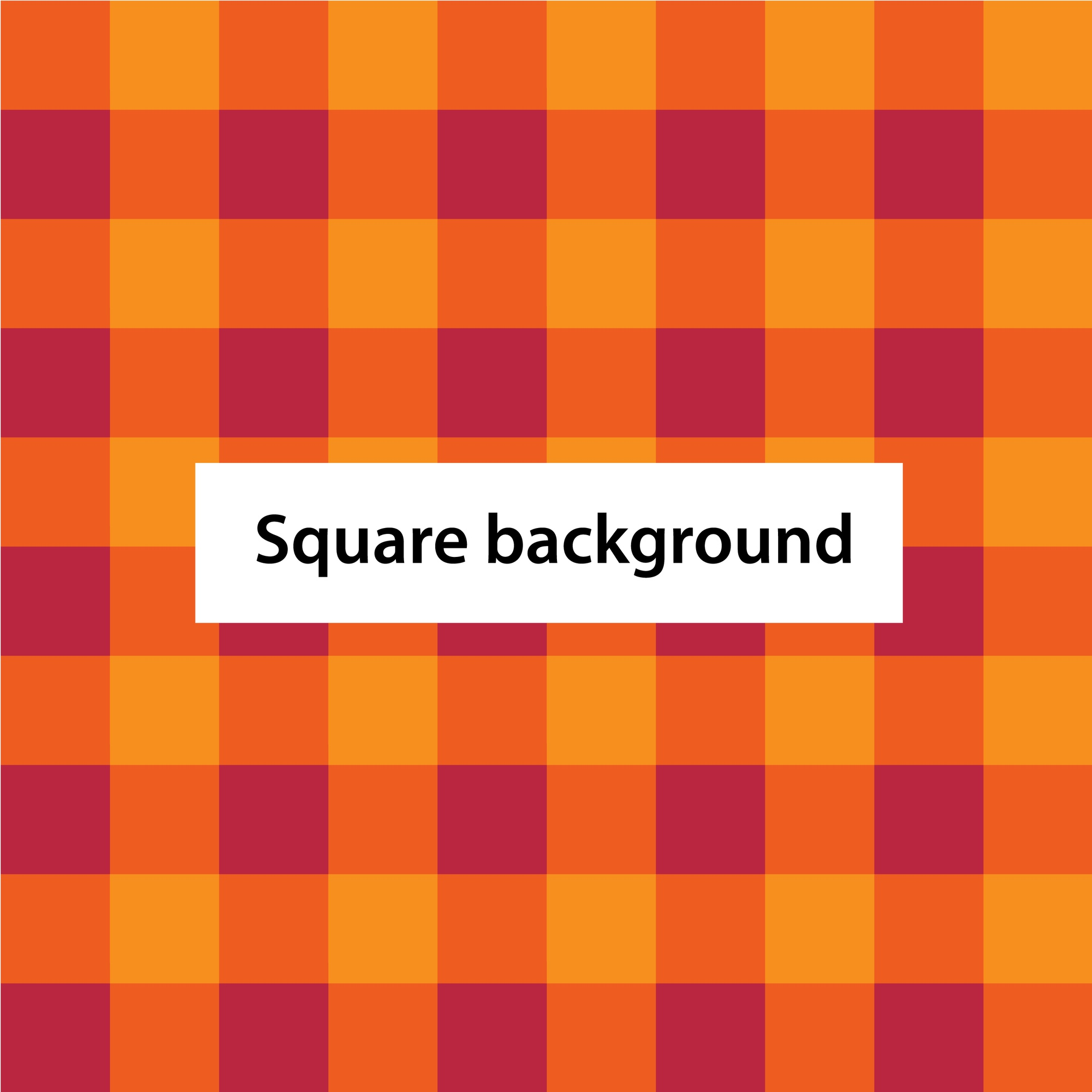 Square grid crate background