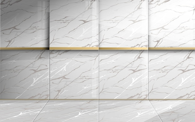 Square marble with golden texture. abstract luxury background.
