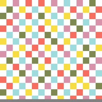 正方形のパターン。抽象的な幾何学的な背景。豪華でエレガントなスタイルのイラスト