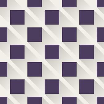 正方形のパターン、抽象的な幾何学的な背景。クリエイティブでエレガントなスタイルのイラスト