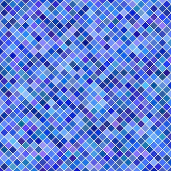 Square pattern background - geometric vector graphic from diagonal squares in blue tones