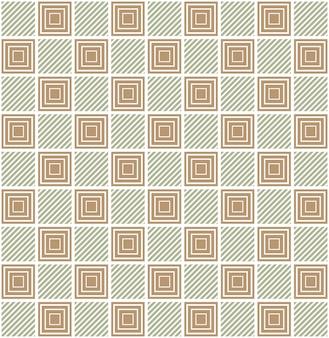 사각형 패턴입니다. 기하학적 추상 배경입니다. 창의적이고 우아한 스타일의 일러스트레이션