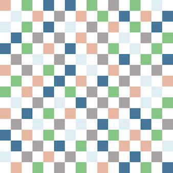正方形のパターン。幾何学的なシンプルな背景。クリエイティブでエレガントなスタイルのイラスト