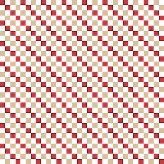 Square pattern. geometric simple background. creative and elegant style illustration Premium Vector