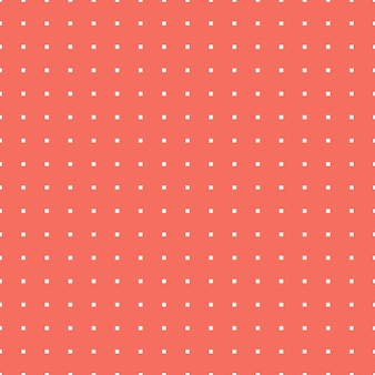 Square pattern in living coral color. abstract geometric background. color of the year 2019. luxury and elegant style illustration