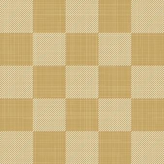 テキスタイルの正方形のパターン、抽象的な幾何学的な背景。クリエイティブで豪華なスタイルのイラスト