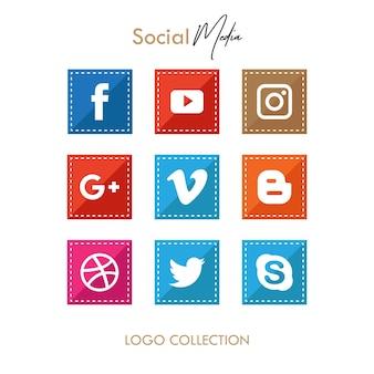 Square Popular Icon Social Media