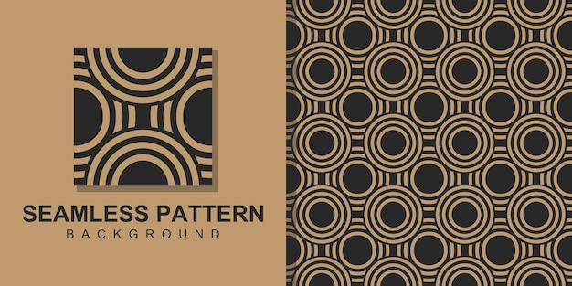 셰이프와 사각형 원활한 패턴 배경