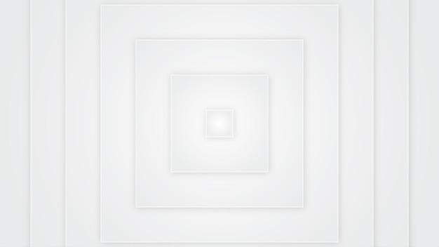 Square white background