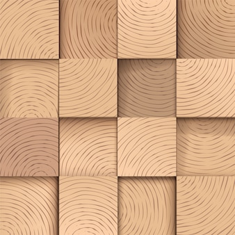 Квадратная деревянная плитка, бесшовные модели.