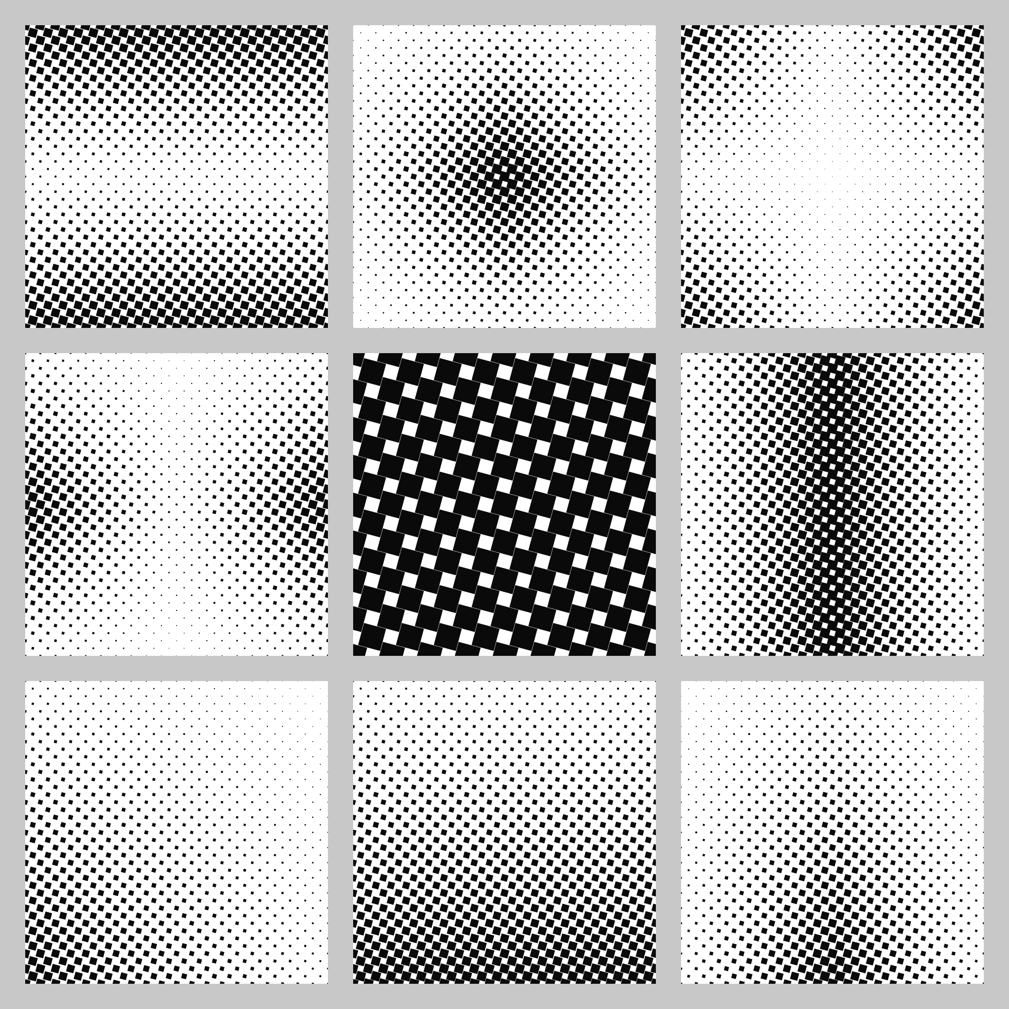 Squares pattern background collection
