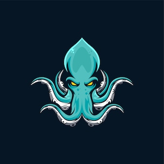 イカのデザインイラスト