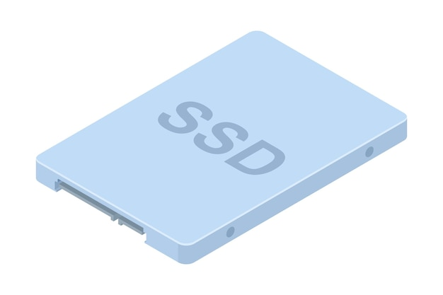 Ssd disk icon.