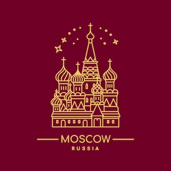 St. basil's cathedral icon.