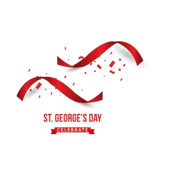 St george's day празднует дизайн векторных шаблонов