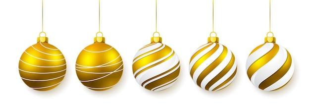 白で隔離のクリスマスガラス球のst