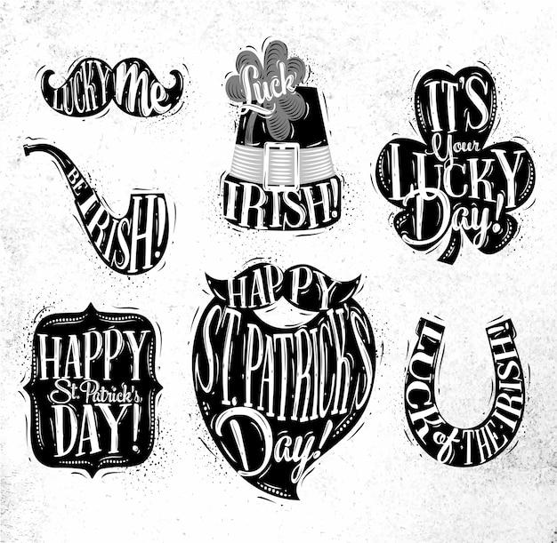 St patrick celebration symbols