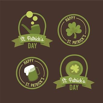 Коллекция значков дня святого патрика