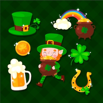 St. patrick day elements