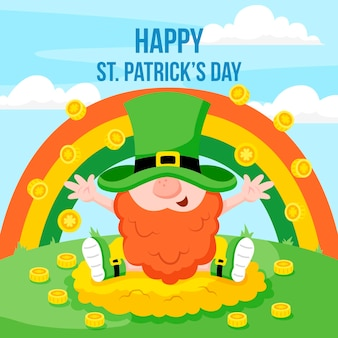 St patrick day illustration