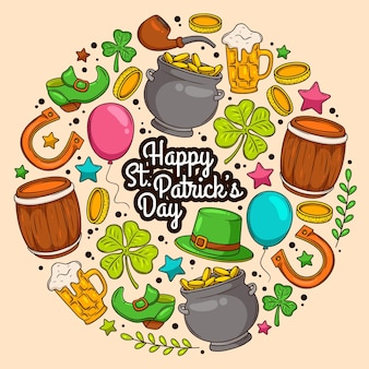 St. patrick day illustration
