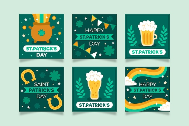 St patrick day instagram posts