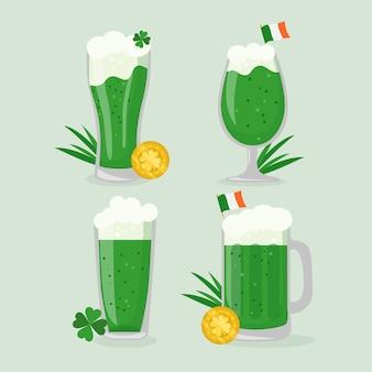 セントパトリックグリーンビール、伝統的なアイルランドの飲み物
