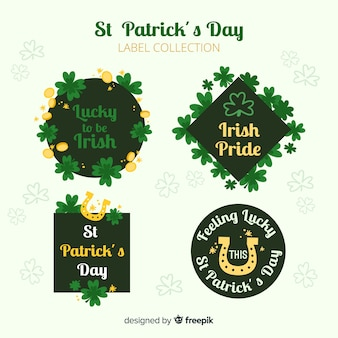St patrick's badge collection