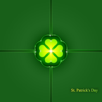 St. patrick's day background, , abstract geometric background