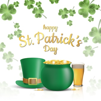St. patrick's day background design