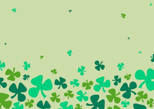 St. patrick's day background vector