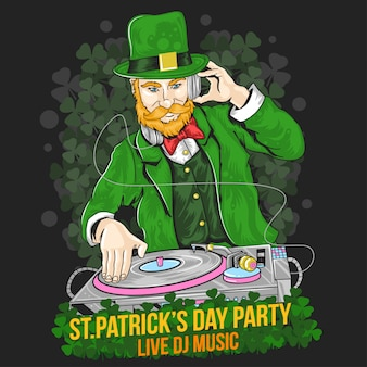 St.patrick's day dj party