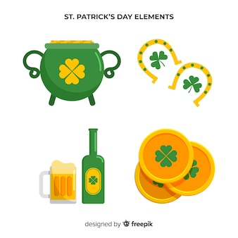 St. patrick's day element collection