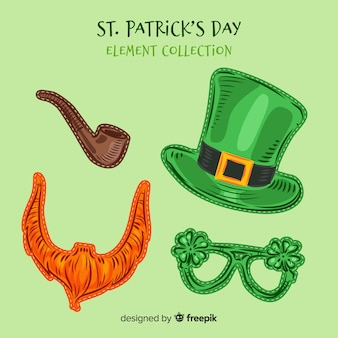 St patrick's day elements collection