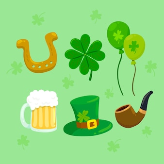 St. patrick's day elements pack