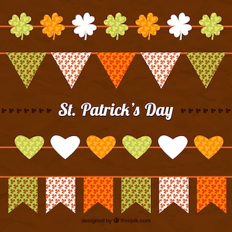 St. patrick's day garlands