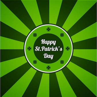 St. patrick's day greetings card or poster.