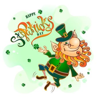 St. patrick's day holiday card