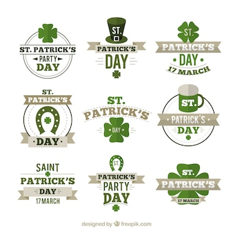 St. patrick's element collection