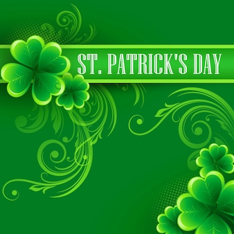 St. patricks day background.  illustration