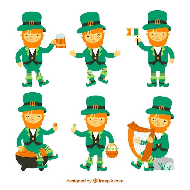 leprechaun vectors photos and psd files free download rh freepik com leprechaun vector png leprechaun hat vector