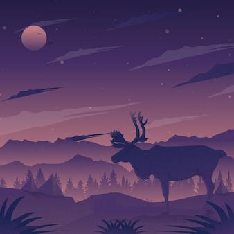 Стабильный олень