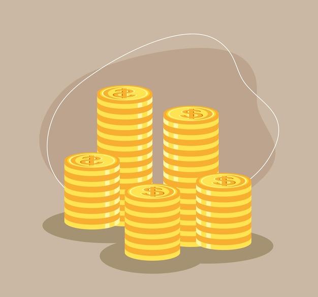 동전의 스택