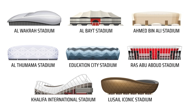 スタジアムとスポーツアリーナの建物