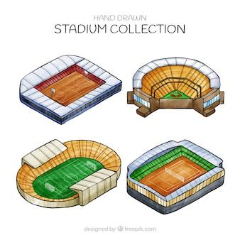 아이소 메트릭 스타일의 경기장 컬렉션